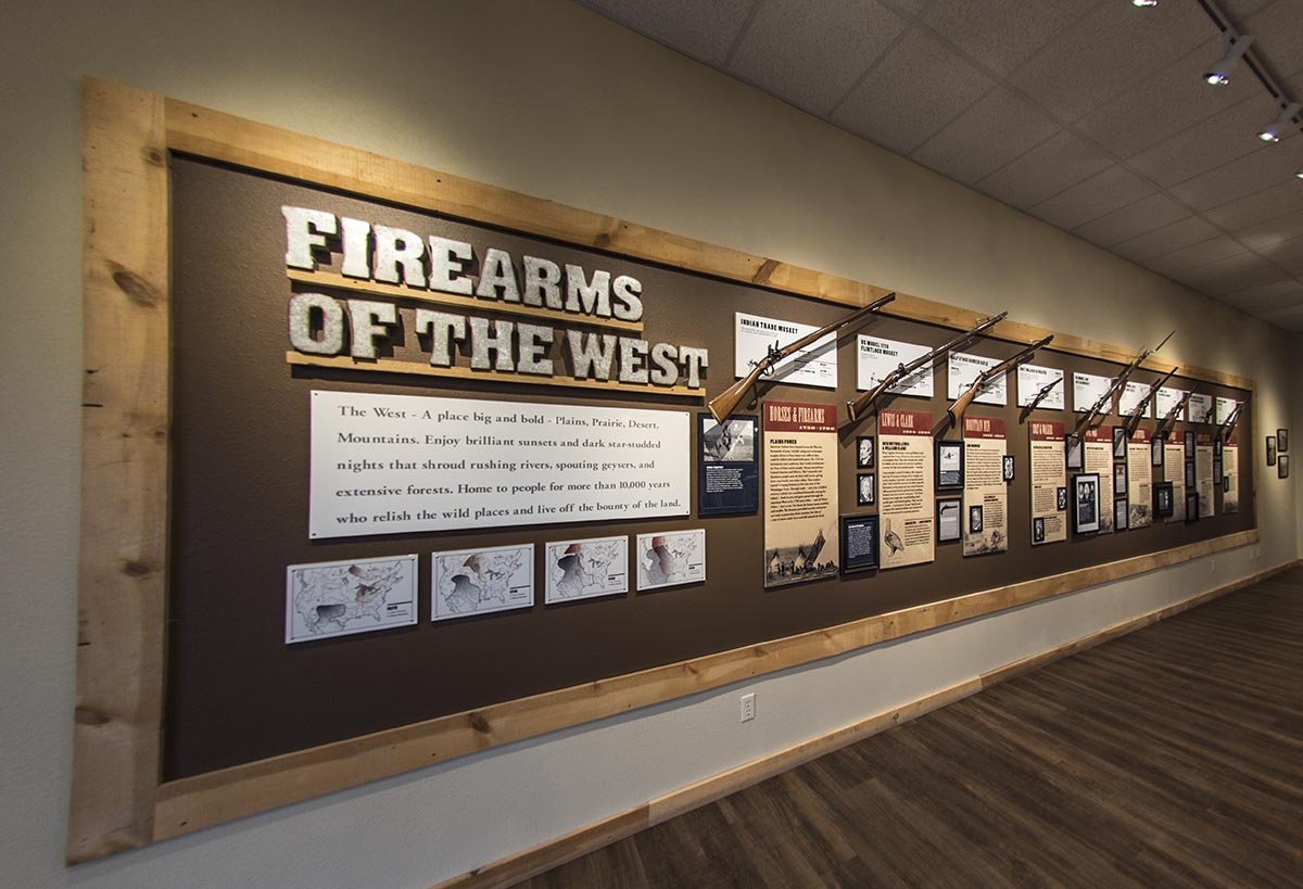 Firearms History in the West and Yellowstone area